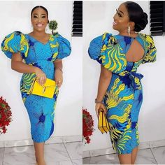 African Lace Styles, Ankara Short Gown Styles, African Dresses For Kids, Latest African Fashion Dresses, African Dresses For Women, African Print Fashion, African Attire, Ankara Styles For Weddings, Short Gowns
