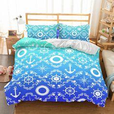 Ship S Anchor Bedding Sets Teen Bedding Sets, Bedding Sets Online, Bedroom Sets, Home Decor Bedroom, Kids Bedroom, Bedding Decor, Master Bedroom, Luxury Duvet Covers, Luxury Bedding Sets