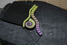 Récréation Fimologique - step by step mosaic.  French. #Polymer #Clay #Tutorials