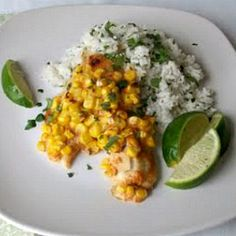 Slow Cooker Chili Lime Tilapia with Corn Recipe