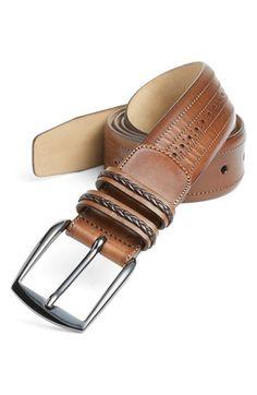 Men's Mezlan 'Diver' Belt Leather Buckle, Leather Belts, Leather Wallet, Women's Belts, Leather Accessories, Women Accessories, Fashion Accessories, Cloth Belt, Belt Shop