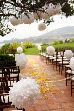 DIY Decoração: Ideias de decoração para um casamento mais barato