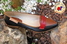 Louvre Noir/ Noisette - Premium Shoes #Bailarinas #Ballerinas #StreetStyle #WomanShoes #FashionBlogger #UrbanStyle #FashionLadies #ShoeLovers #Zapatos #AutumnStyle #TortueJolie