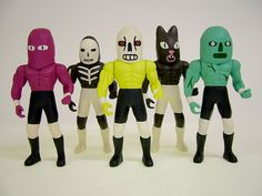 Wrestling Action Figures, via Flickr.