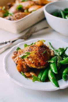 40 Garlic Chicken with an Asian Twist