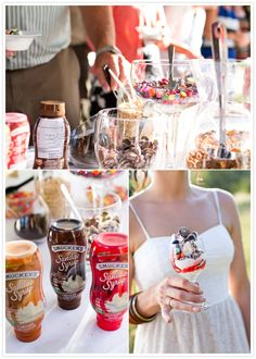 Sundae Bar... who doesn't love that!