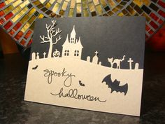 IC409 - Spooky Halloween (Front of Card)