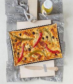 Chorizo-Quiche und Pinienkern-Vinaigrette Rezept - [ESSEN UND TRINKEN]