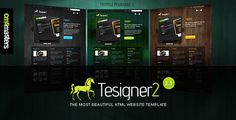 Discount Deals Tesigner2 - The Most Beautiful Website Templateyou will get best price offer lowest prices or diccount coupone