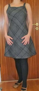 Gorgeous little dress from frumpy skirt