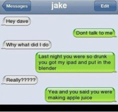 Funny Texts Pranks Laughing So Hard Guys 30 Best Ideas Funny Drunk Texts, Funny Text Memes, Text Jokes, Drunk Humor, Funny Relatable Memes, Funny Jokes, Stupid Texts, Hilarious Texts, Epic Texts