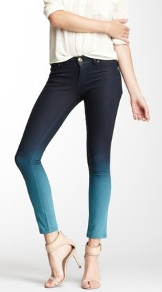 Dip Dyed Jeans by odessa