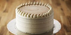 Celebrate a birthday or any special occasion with this moist and scrumptious Vanilla Birthday Cake. Don't forget the Caramel Pastry Cream!Makes 1 8-inch cake