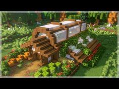 Minecraft Greenhouse, Minecraft Garden, Minecraft Farm, Minecraft Mansion, Easy Minecraft Houses, Minecraft House Tutorials, Minecraft House Designs, Amazing Minecraft, Minecraft Creations