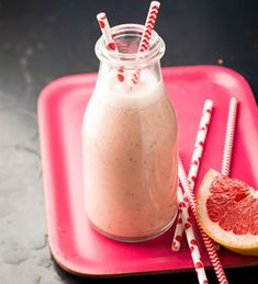 Pink-Grapefruit-Smoothie von Einfach Hausgemacht, Mein Magazin für Haus und Küche