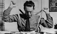 Premium Photographic Print: Screenwriter Jack Cunningham Snapping Suspenders as He Works on Harold Lloyd's New Film by Paul Dorsey : Jack Cunningham, Harold Lloyd, Screenwriting, Suspenders, Find Art, Framed Artwork, It Works, Film, News