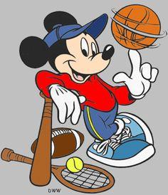 Dibujos Disney Mickey