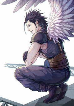 Final Fantasy Crisis Core, Final Fantasy Vii Remake, Fantasy Series, Fantasy World, Zack Fair, Final Fantasy Collection, Final Fantasy Characters, Anime Sketch, My Sunshine