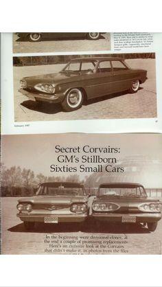 1960 Corvair and stillborn Pontiac