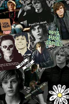 American horror story- Evan peters (Tate)