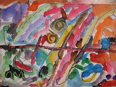 ChumleyScobey Art Room: Kindergarten Paints Lines with Kandinsky!