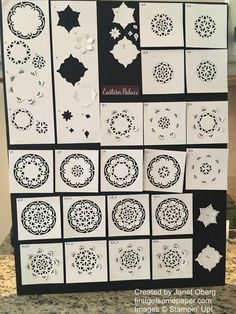 Lots of ways to create with the Eastern Medallions Thinlits Dies by Stampin' Up! (I have smaller) Card Making Inspiration, Making Ideas, Mini Albums, Stampin Up Anleitung, Eastern Palace, Stampin Up Catalog, Stamping Up Cards, Card Making Techniques, Card Tutorials