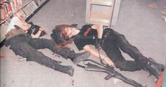 E. D. Harris & D. B. Klebold committed the Columbine High School massacre. The pair killed 13 people and injured 24 others. #slaughter
