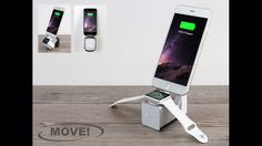 MOVE! Cable free travel companion for AppleWatch & iPhone by Michael, Enblue Technology — Kickstarter