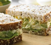 Egg and Avocado Sandwiches