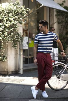 Street Snaps! Random Spring 2017 Street Style Inspirations. | Follow rickysturn/mens-casual for more Trending Men's Fashions