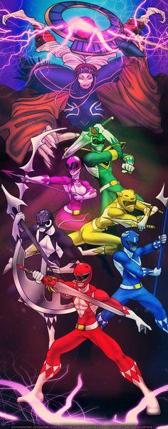 Mighty Morphin Power Rangers by SoyUnGnomo.deviantart.com on @DeviantArt
