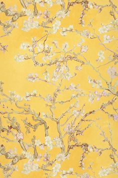 VanGogh Blossom   Flower wallpaper   Additional Wallpapers   Wallpaper from the 70s