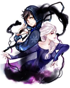 """(Open RP I'm Elsa) I guess I loved jack too much. When Pitch possessed him I guess I gave in. I made Jack posses me. I left Arendelle a log time ago. Me and Jack got married and now we're living on the north mountain in my old ice castle. I wake up in the middle of the night from a nightmare. The same nightmare every night. I walk to the balcony and put my hand on the cold dark ice. I sigh and look at the horizon. You wrap your arms around me from behind. """"Hey."""" You whisper.(by…"""