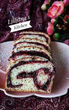 Pita Recipes, Sweet Recipes, Baking Recipes, Cake Recipes, Dessert Recipes, Desserts, Sweet Pastries, Bread And Pastries, Cake Cookies
