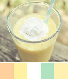 Creamsicle Smoothie Color Inspiration