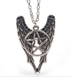 WANT or NEED? 🖤 Get this Gothic Wings Pentagram Necklace at rockndollstore.com! ✈ FREE SHIPPING Worldwide ✈  #rockndollstore #rockndoll #gothic #goth #alternativegirls #gothfashion #alternative #alternativefashion #alternativegirl #alternativestyle #gothicgirl #gothgirl #metalgirl #darkfashion #pastelgoth #gothicstyle #wicca #wiccan #witch #pagan #moonchild #altgirl #harajuku #gothgoth #nugoth #occult #allblack #blackoutfit #blackismyhappycolor #allblackeverything