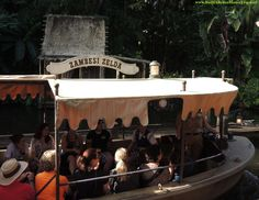 """""""Hello and welcome to the world famous Jungle Cruise. I'll be your captain, cruise director and dance instructor for the next five exciting days and six romantic nights.""""  --- For a list of 45 great Disney World freebies & free newsletter, see: http://www.buildabettermousetrip.com/disney-freebies/"""