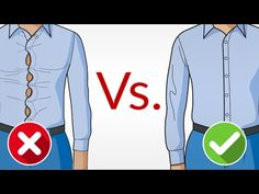 How should a dress shirt fit?  I lay it out for you in this easy to understand info-graphic.  Enjoy!       Click here to watch the video - How A Dress Shirt Should Fit  Click here to watch the video on YouTube - The Proper Way To Wear A Dress Shirt     OK - so you have a shirt that f