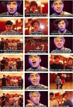 ONE DIRECTION IS THE ONLY BOY BAND THAT WOULD MAKE A PARODY TO THEIR OWN SONG LITERALLY :)