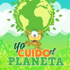 Yo cuido el paneta. Environment, Earth, Fictional Characters, Google, Frases, Bow Braid, World, School Gardens, Spanish Vocabulary