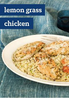 Lemon Grass Chicken with Herbed Orzo — Here's deliciousness at its ...