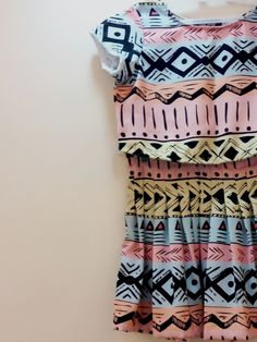 The tribal skirt and crop top  Crop: Rs 700 Skirt: 1400