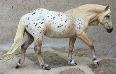 Breyer Haflinger mare to palomino appaloosa http://arcadiancreations.weebly.com/2012-customs.html