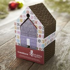 Blessed House Ornament in View All Ornaments | Crate and Barrel
