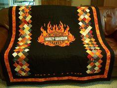 Custom Harley Davidson Rag Quilt Facebook Or Etsy Quot From