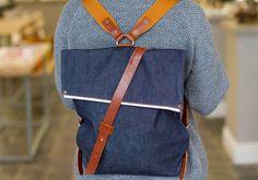 Seventy Eight Percent Jurgen Raw Denim Backpack in Room 2046 Toronto | Room 2046