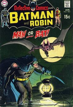 Neal Adams Manbat cover