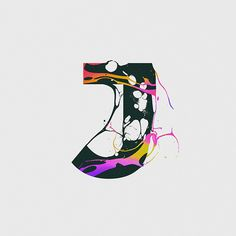 My contribution to the edition of 36 Days of Type 36 Days Of Type, Typography, Lettering, Vol 2, Letters And Numbers, Disney Characters, Fictional Characters, Graphic Design, Behance