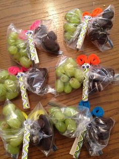 Snack ideas for Christopher's class