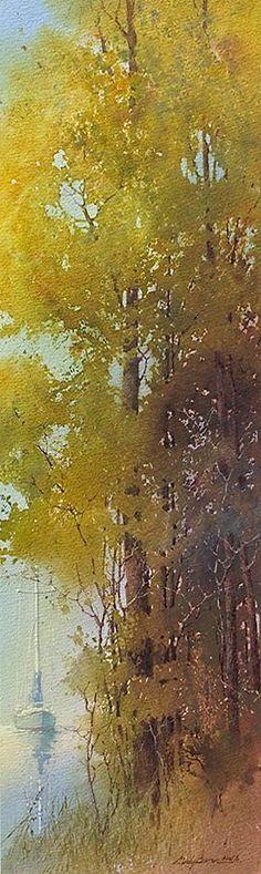 Cindy Baron Watercolor #watercolorarts